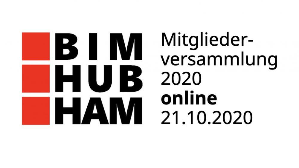 BIM HUB Hamburg: Online-Mitgliederversammlung 2020
