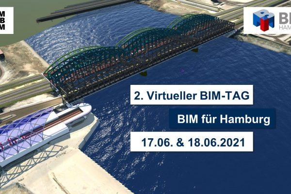 """2. virtueller BIM-Tag """"BIM für Hamburg""""!"""